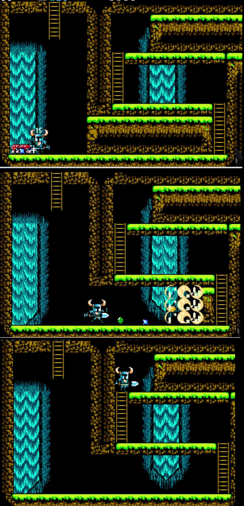 Shovel Knight - Destructible Walls