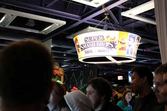 Super Smash Bros Section