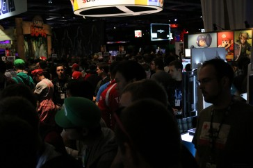 Super Smash Bros Section. You know you like a linecon.