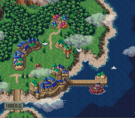 Chrono Trigger - The one where Chrono dies because you did the wrong ending