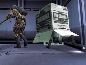 Metal Snake Box Man