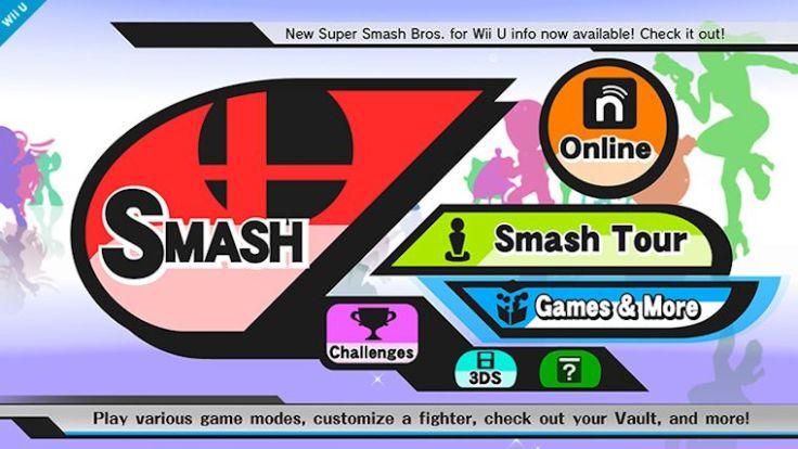 Smash4-menu