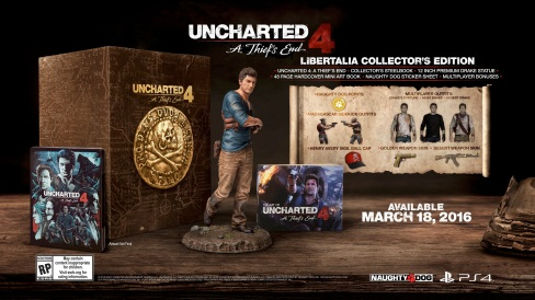 uncharted 4 preorder
