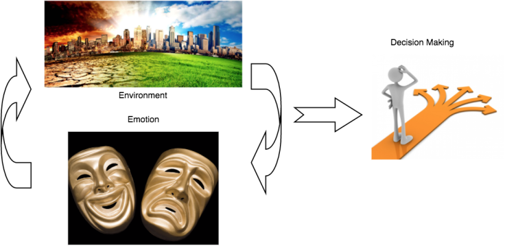 Environment, Emotions influence Decision Making